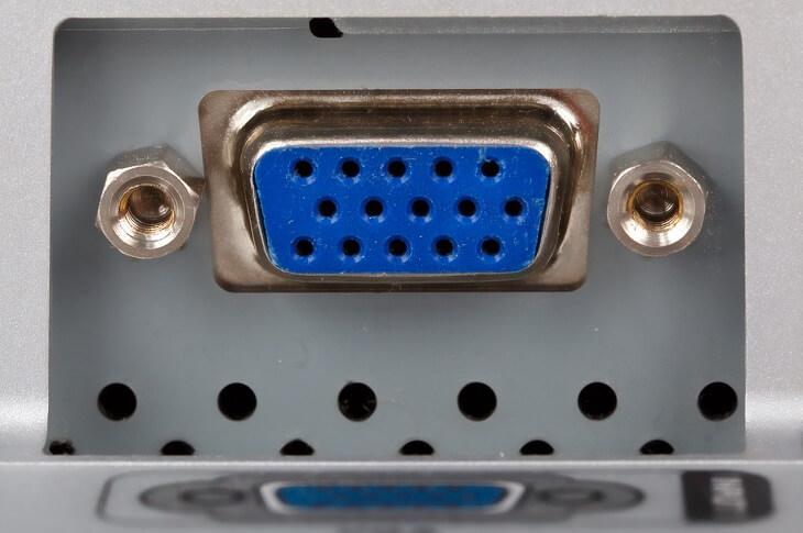 VGAの差込口